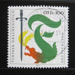 Poštovní známka Nìmecko 2001 Festival draka Mi# 2207