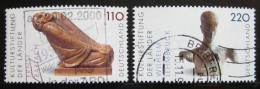 Poštovní známky Nìmecko 1999 Sochy Mi# 2063-64