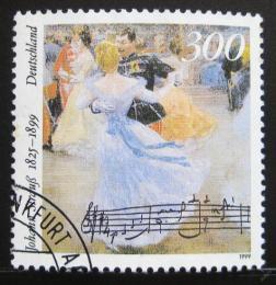 Poštovní známka Nìmecko 1999 Johann Strauss mladší Mi# 2061
