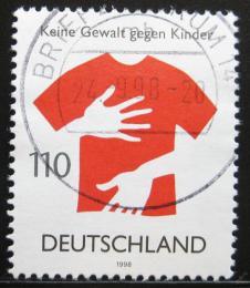 Poštovní známka Nìmecko 1998 Ochrana dìtí Mi# 2013