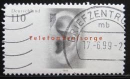 Poštovní známka Nìmecko 1998 Krizová linka Mi# 2021