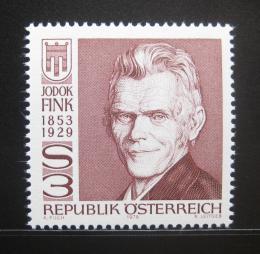 Poštovní známka Rakousko 1979 Jodok Fink, guvernér Voralberska Mi# 1614