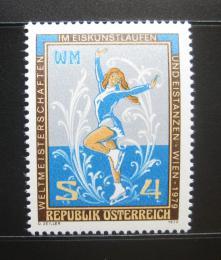 Poštovní známka Rakousko 1979 MS v krasobruslení Mi# 1600