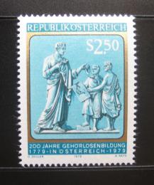 Poštovní známka Rakousko 1979 Vzdìlání hluchonìmých Mi# 1606