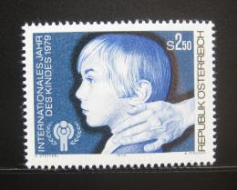 Poštovní známka Rakousko 1979 Mezinárodní den dìtí Mi# 1597