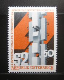 Poštovní známka Rakousko 1978 Kongres stavebních materiálù Mi# 1586