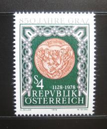 Poštovní známka Rakousko 1978 Graz, 850. výroèí Mi# 1583