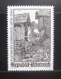 Poštovní známka Rakousko 1978 Umìní, S. Lobisser Mi# 1571