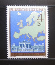 Poštovní známka Rakousko 1978 Konference bezpeènosti Mi# 1574