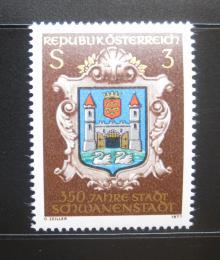 Poštovní známka Rakousko 1977 Schwanenstadt, 350. výroèí Mi# 1552