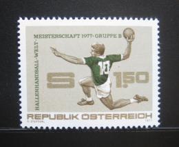 Poštovní známka Rakousko 1977 MS v házené Mi# 1542
