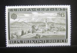 Poštovní známka Rakousko 1977 Evropa CEPT Mi# 1553