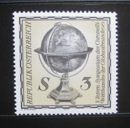 Poštovní známka Rakousko 1977 Glóbus, Coronelli Mi# 1554