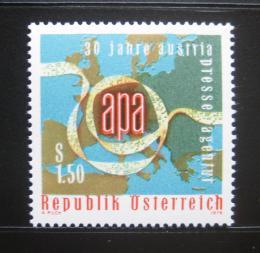 Poštovní známka Rakousko 1976 Tisková agentura APA # 1533