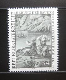 Poštovní známka Rakousko 1976 Sedlácká válka Mi# 1512