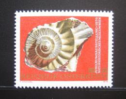Poštovní známka Rakousko 1976 Amonit Mi# 1510