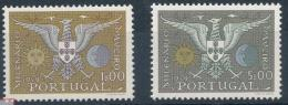 Poštovní známky Portugalsko 1959 Aveiro Mi# 876-77 Kat 16€