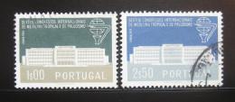 Poštovní známky Portugalsko 1958 Institut medicíny Mi# 868-69