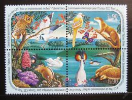 Poštovní známky OSN Ženeva 1991 Fauna Mi# 194-97