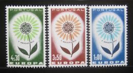 Poštovní známky Portugalsko 1964 Evropa CEPT Mi# 963-65 Kat 16€