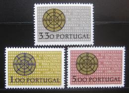 Poštovní známky Portugalsko 1966 Køes�anská civilizace Mi# 1000-02 Kat 12€