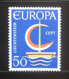 Poštovní známka Lichtenštejnsko 1966 Evropa CEPT Mi# 469