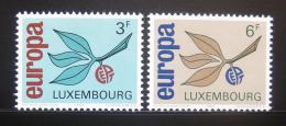 Poštovní známky Lucembursko 1965 Evropa CEPT Mi# 715-16