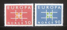 Poštovní známky Norsko 1963 Evropa CEPT Mi# 498-99