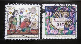 Poštovní známka Nìmecko 1998 Vánoce Mi# 2023-24