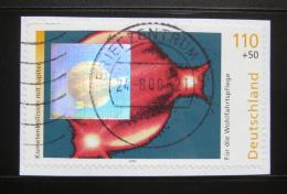 Poštovní známka Nìmecko 1999 Kolize komet, na papíøe Mi# 2080