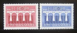 Poštovní známky Dánsko 1984 Evropa CEPT Mi# 806-07