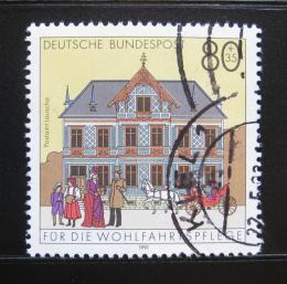 Poštovní známka Nìmecko 1991 Pošta, Lauscha Mi# 1566