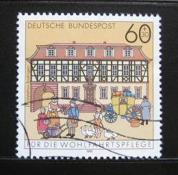 Poštovní známka Nìmecko 1991 Pošta, Budingen Mi# 1564
