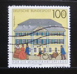 Poštovní známka Nìmecko 1991 Pošta, Bonn Mi# 1567