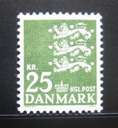 Poštovní známka Dánsko 1969 Malá státní peèe� Mi# 399 y
