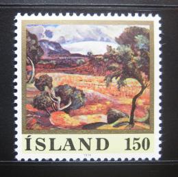 Poštovní známka Island 1976 Ledovec Lang, Jonsson Mi# 513