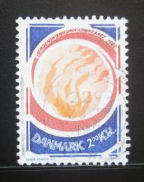 Poštovní známka Dánsko 1983 Rok komunikace Mi# 767