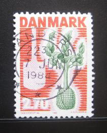Poštovní známka Dánsko 1984 Kampaò na sázení stromù Mi# 799