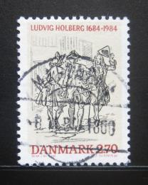 Poštovní známka Dánsko 1984 Ludvig Holberg Mi# 817