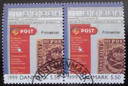Poštovní známky Dánsko 2000 Web pošty Mi# 1266