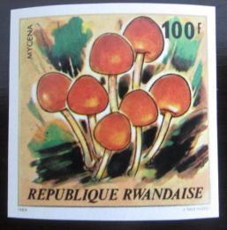 Poštovní známka Rwanda 1980 Houby neperf. Mi# 1058 B Kat 32€