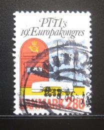 Poštovní známka Dánsko 1986 Kongres PTT, Kodaò Mi# 877