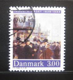Poštovní známka Dánsko 1988 Umìní, P. S. Kroyer Mi# 924