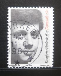 Poštovní známky Dánsko 1986 Princ Frederik Mi# 867