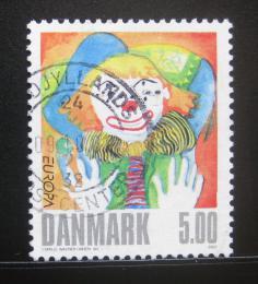 Poštovní známka Dánsko 2002 Evropa CEPT Mi# 1311