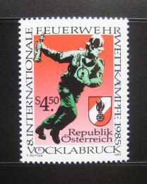 Poštovní známka Rakousko 1985 Požární brigáda Mi# 1821