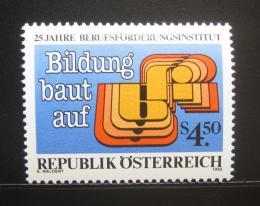 Poštovní známka Rakousko 1985 Profesní trénink Mi# 1804