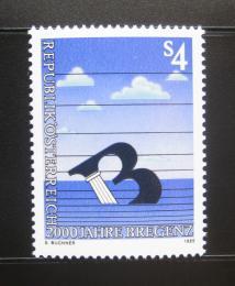 Poštovní známka Rakousko 1985 Bregenz milénium Mi# 1805