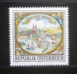 Poštovní známka Rakousko 1985 Garsten milénium Mi# 1816