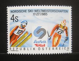 Poštovní známka Rakousko 1985 MS v lyžování Mi# 1801